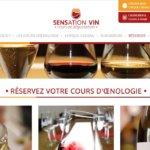 Sensation Vin, nouveau logo, nouveau site internet