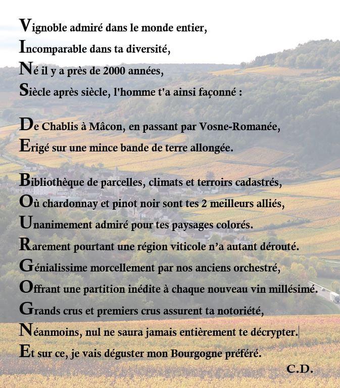 les vins de Bourgogne, vous connaissez